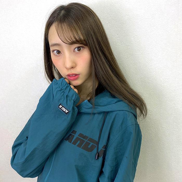 andR:20AW ナイロン アノラック パーカー 【受注生産】