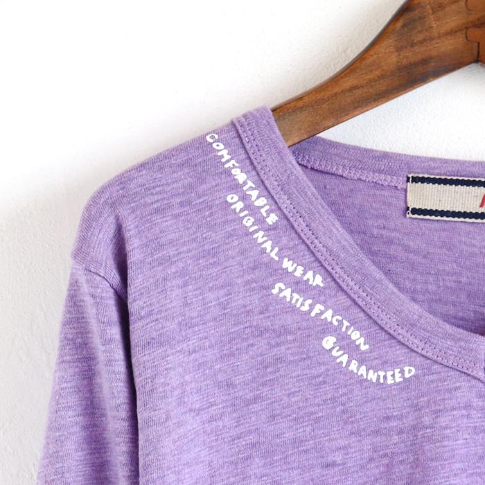 サガラうさぎINポケット 長袖Tシャツ