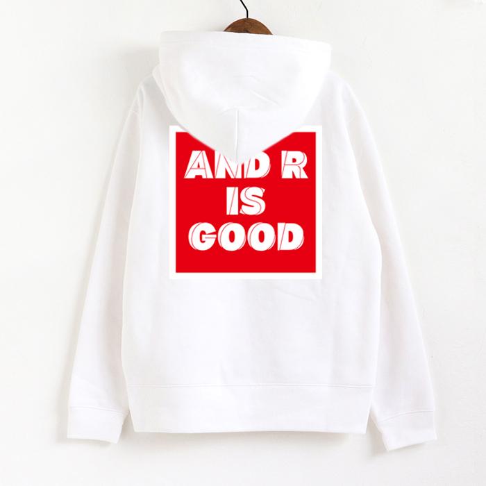 andR:20AW GOODプリント ZIPパーカー 【受注生産】