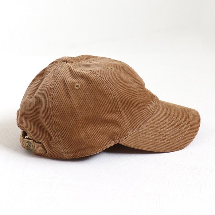 andR:20AW ミニワッペン付き コーデュロイ CAP 【受注生産】