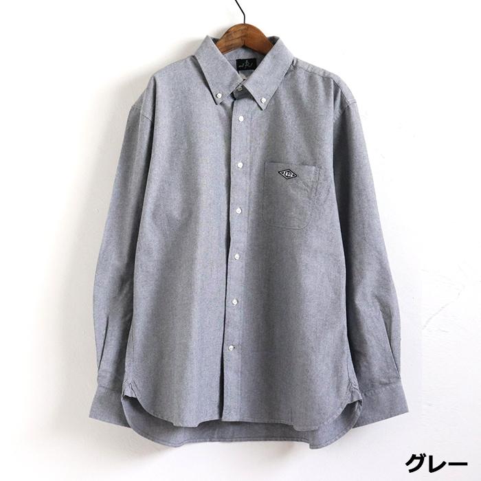 andR;21SS ひし形ミニワッペン付き  オックスフォードシャツ【受注生産】