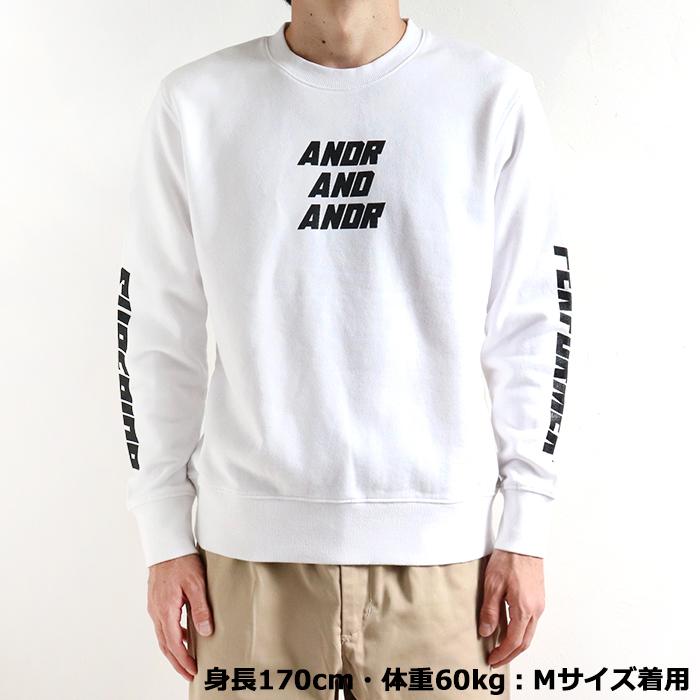 andR;21SS SUPERIOR プリント プルオーバー 【受注生産】