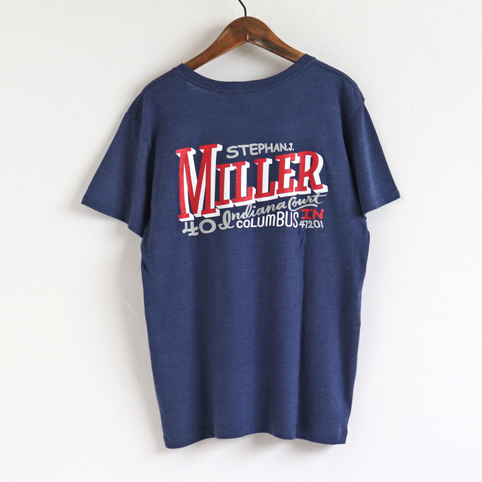 MILLER V/C  Tシャツ