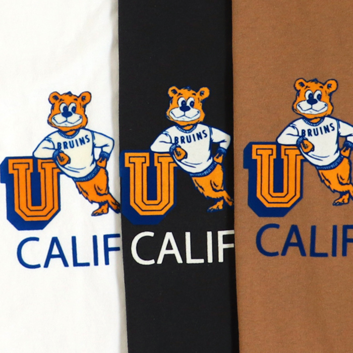 ANTIBAL UCLA ロゴ フロッキープリント ゆったり Tシャツ
