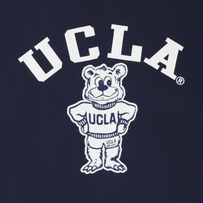 ANTIBAL UCLA ベア— フロッキープリント 半袖 ワンピース