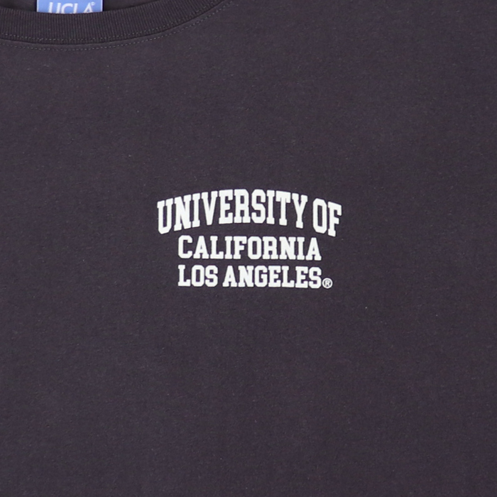 ANTIBAL UCLA ロゴ フロッキープリント 半袖 ワンピース