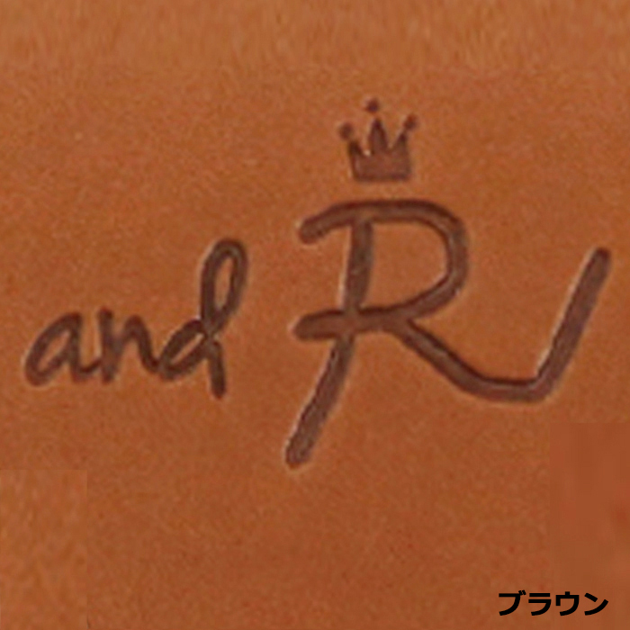 andR:20Xmas レザーコインケース 【名入れ】 【受注生産】