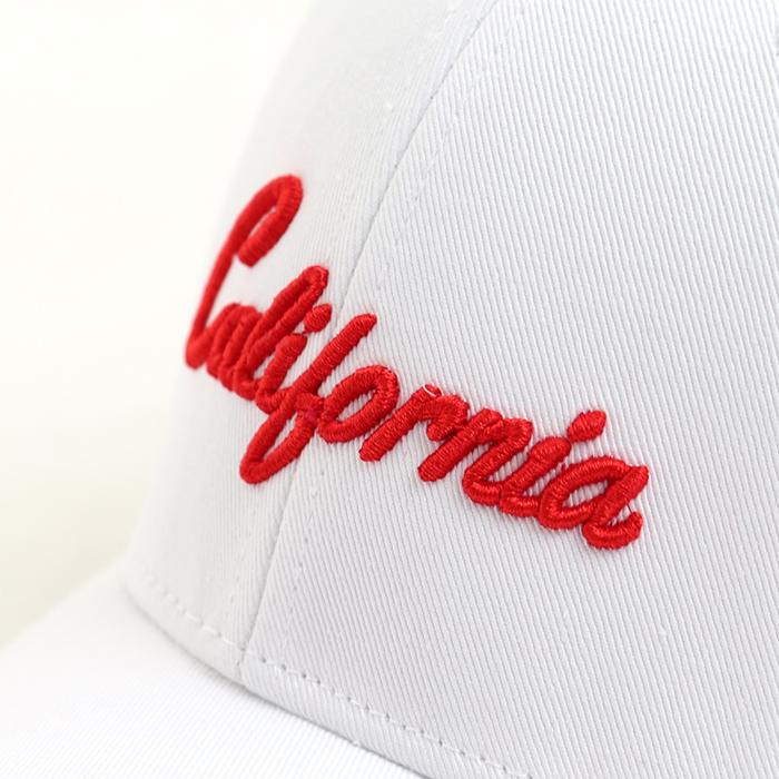 California 刺繍 キャップ