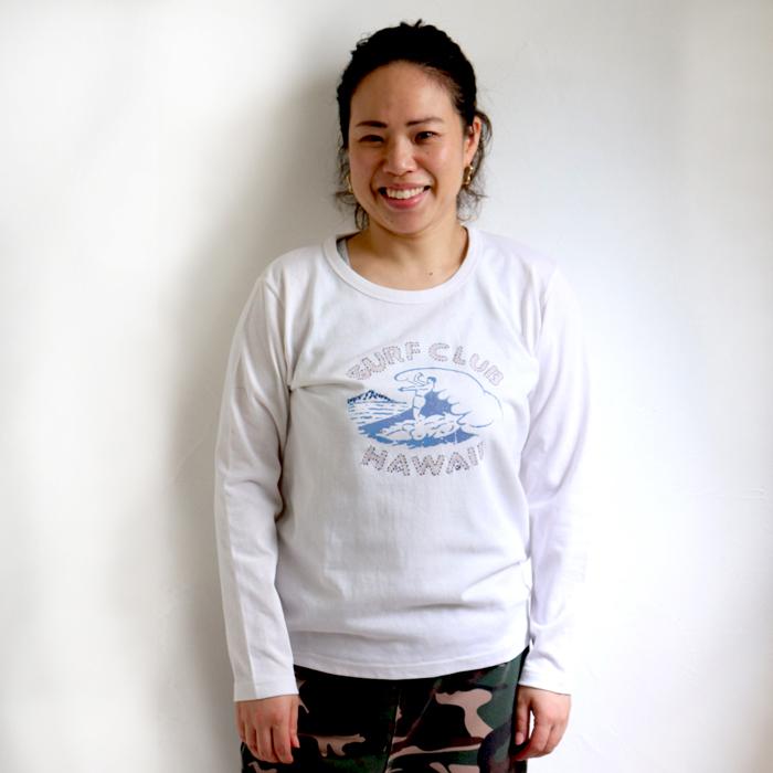 SURF CLUB 長袖 Tシャツ