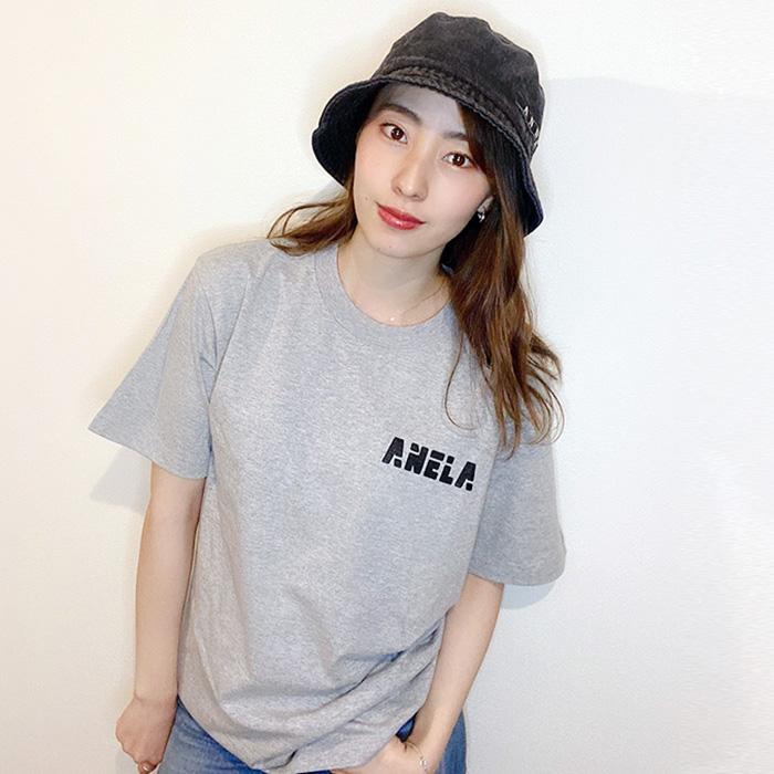 andR;21SS アネラ プリント 半袖Tシャツ 【受注生産】