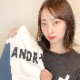 andR.21AW プラスプリント ベースボールTシャツ【受注生産】