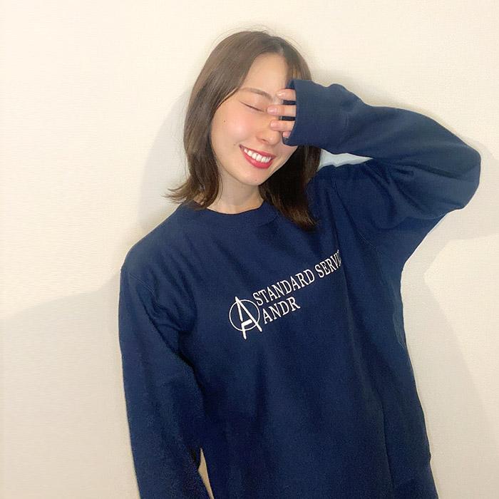 andR.21AW Standard刺繍 プルオーバー 【受注生産】