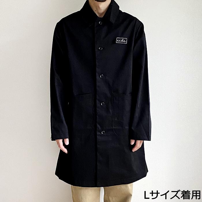 andR.21AW ミニロゴワッペン ダスターコート 【受注生産】