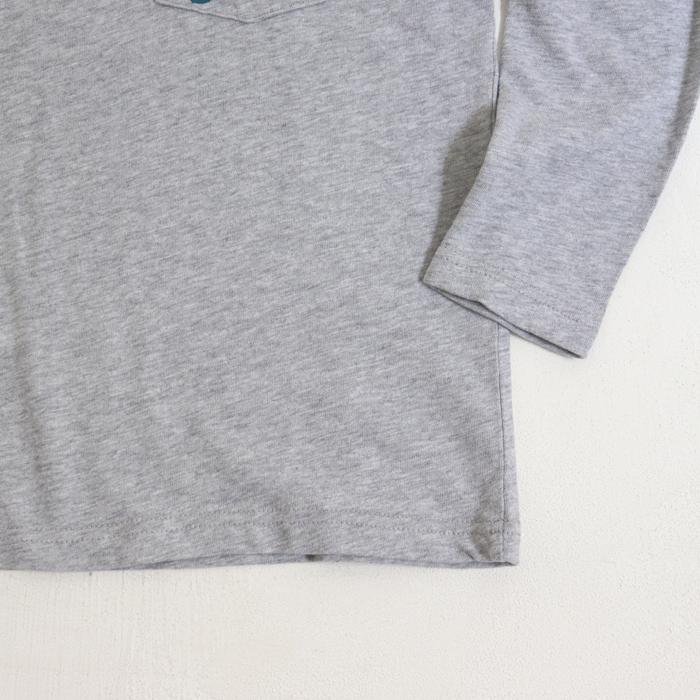 ポケットサガラS刺繍長袖Tシャツ