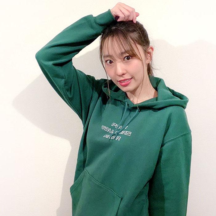 andR: 【特別プライス】 POUR プリント プルパーカー【受注生産】