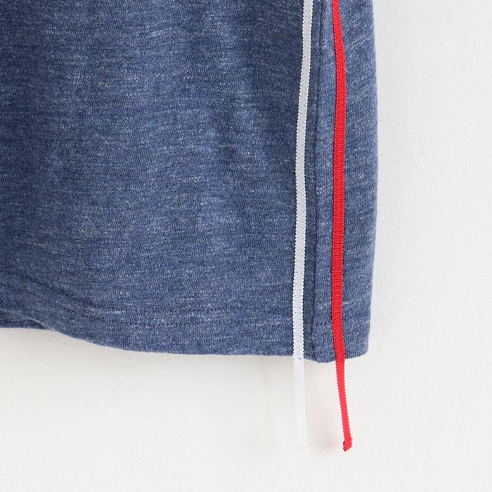 脇2本ライン 半袖Tシャツ