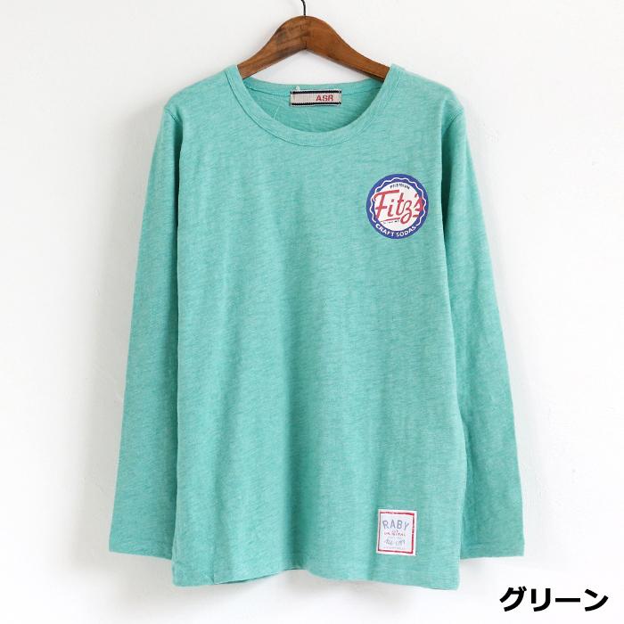 Fits プリント 長袖Tシャツ