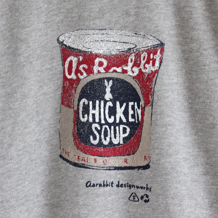 スープ缶 プリント プルオーバー