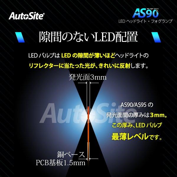 ラングラー JK ジープ Jeep Wrangler JK PSX24W AS90 LEDフォグランプ フォグランプのハロゲン球からLED化に 6400lm 5500K オートサイト