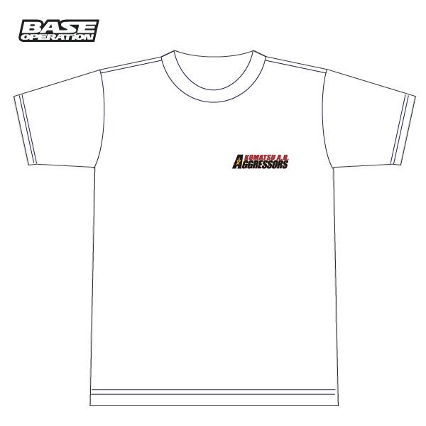 飛行教導群AGGRESSORS(小松基地)アグレスイーグル090Tシャツ