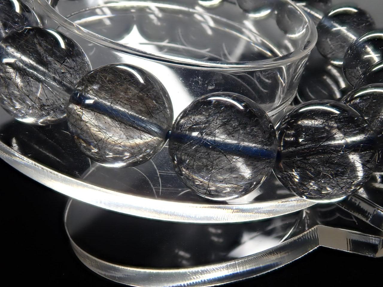 プラチナブルールチル ブレスレット 12.8� 5A+