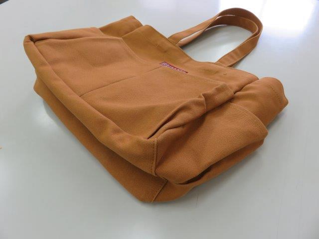 ポケットバッグ 取手長 11色倉敷帆布 3年保証 はんぷ工房結