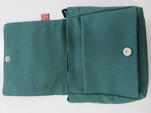 ショルダーバッグ(11色倉敷帆布、3年保証) 【はんぷ工房結】【納期約1〜4週間】