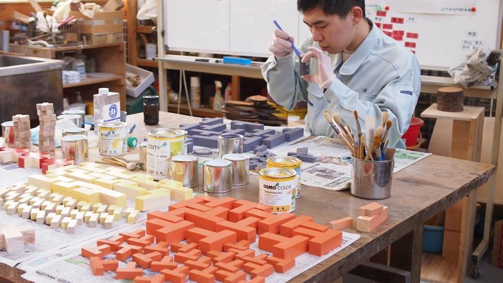大人も楽しめる知育玩具 ブロックル(カラー) 【かみなり村本舗】【納期約3〜5日】