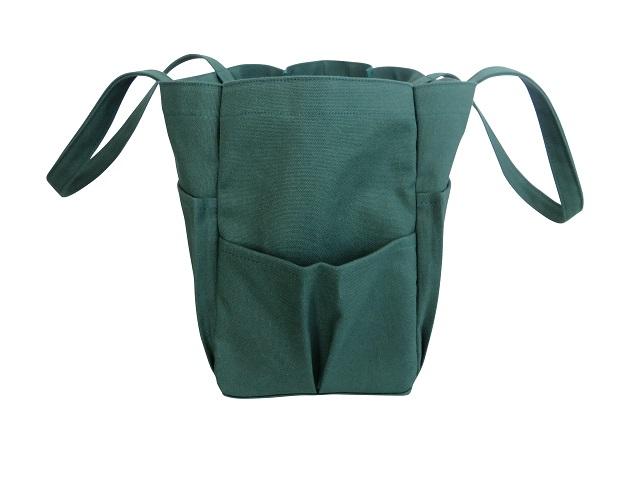 ポケットバッグ特大 取手長 全11色倉敷帆布 3年保証 はんぷ工房結
