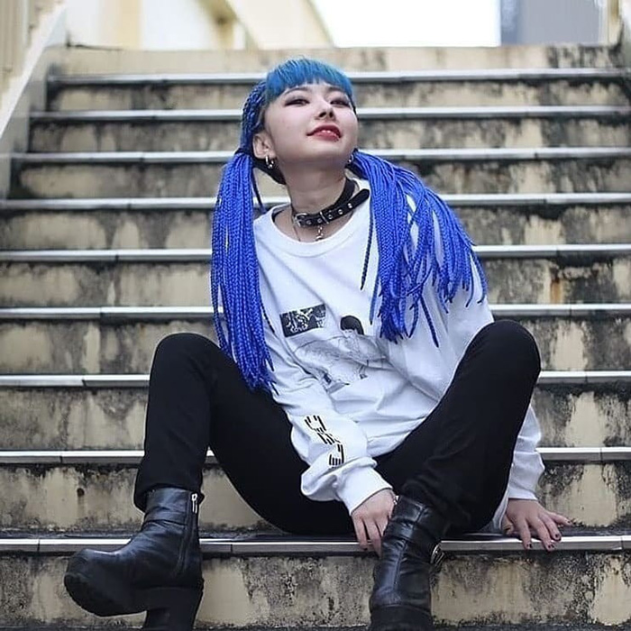 Meth Girl L/S Tee