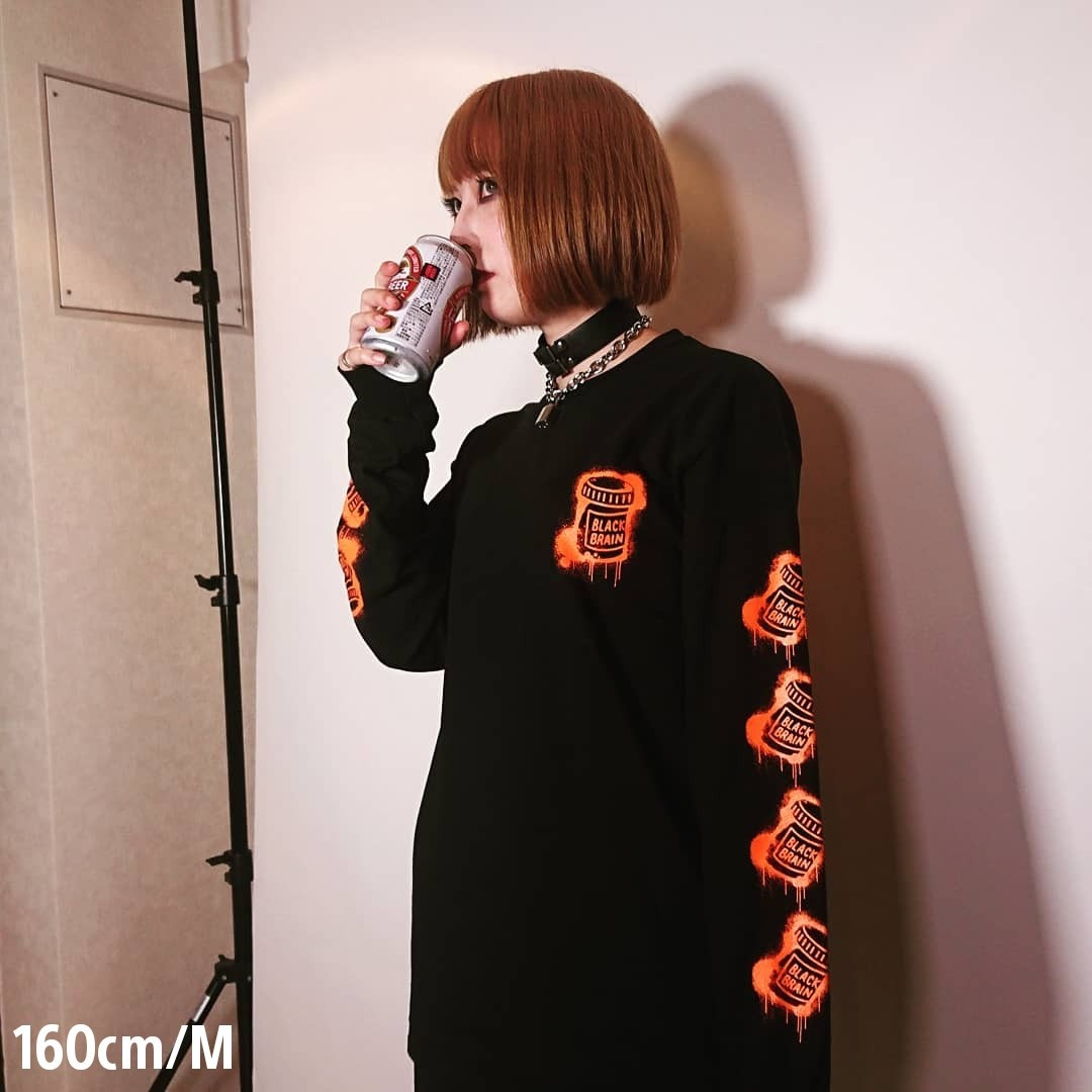 Dripped Bottles LS Tee