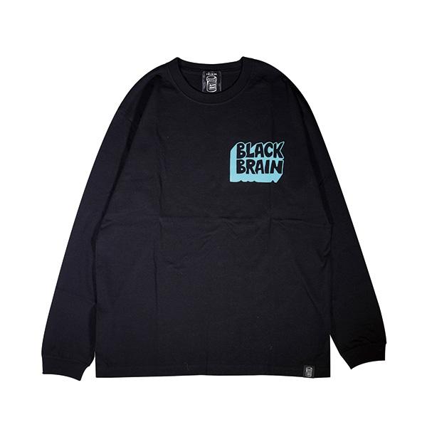 Black Parlour LS Tee (Black x T-Blue)