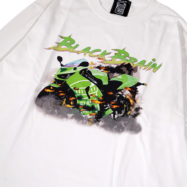 Green Bike LS Tee