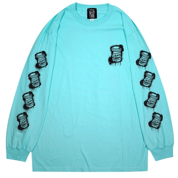 11 Dripped LS Tee (T Blue x Black)