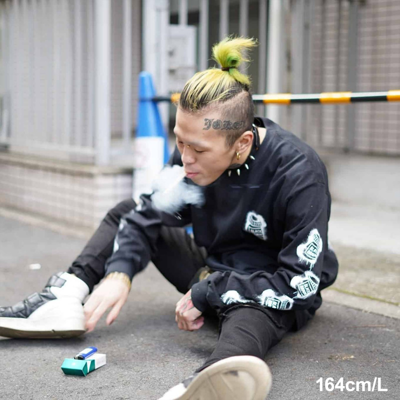 11 Dripped LS Tee [12/4 19時〜 新商品]