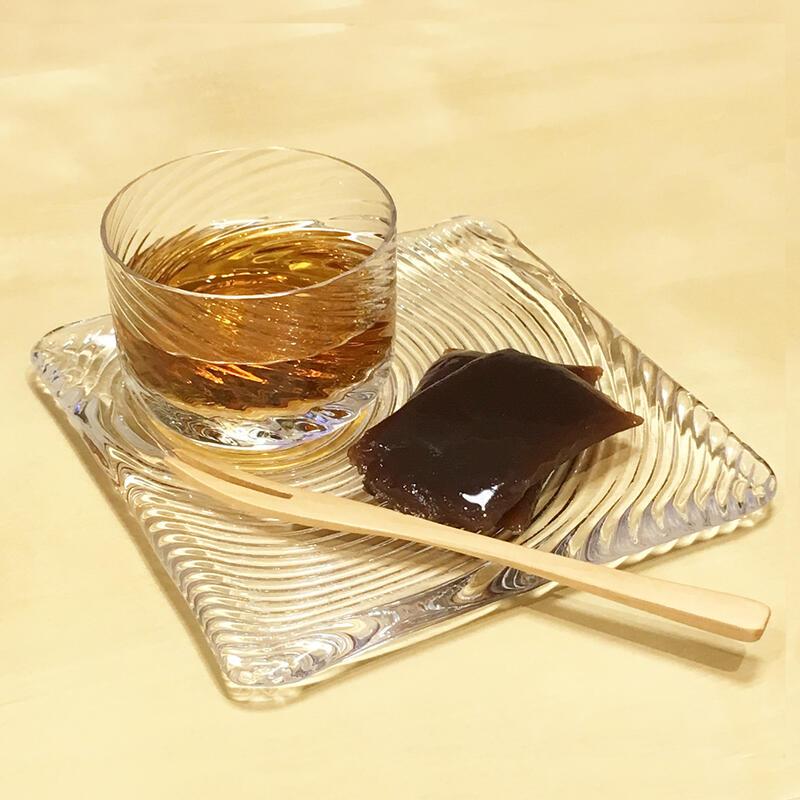 Sghr ガラス製 デザート カップ&ソーサー 「ギフトセット」