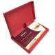 メール便 翌日配達・送料無料 ポップアップギフトボックス(赤)入り ハーゲンダッツギフト券 3枚 高級ギフトボックス