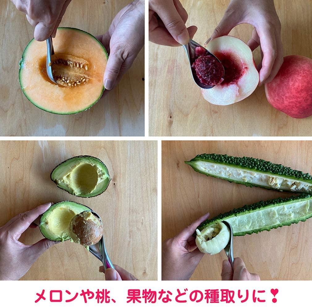 B&M ハート形のかわいいアイスクリームディッシャー(アイススクープ)かたいアイスが軽くすくえる万能キッチンツール(食洗器対応)