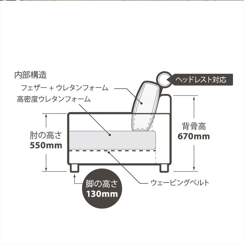 【店頭販売限定】 マウルスカウチソファ (各色)【KF】