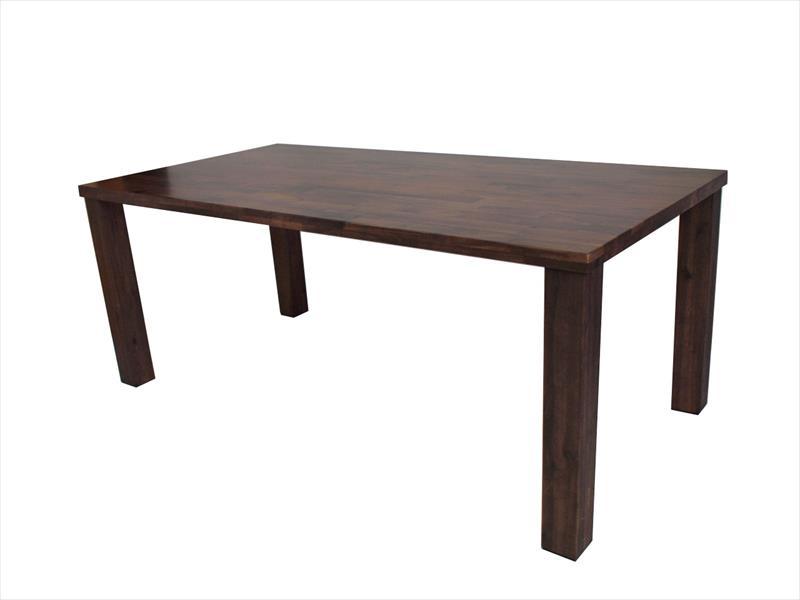 ジョーカー150ダイニングテーブル(ウォールナット)【KD】