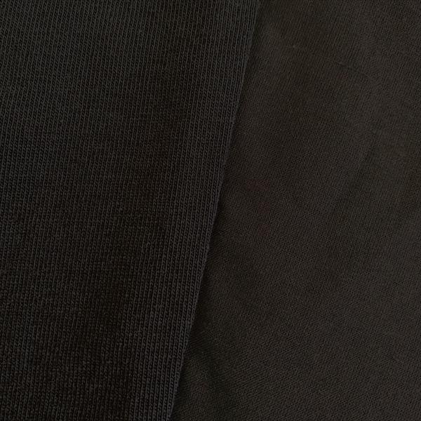 6分袖異素材Tシャツ