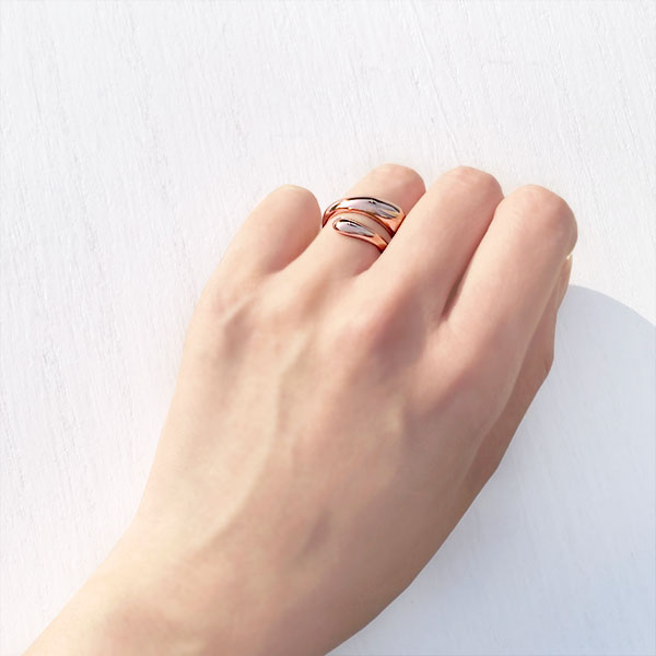 Honey ring (pinkgold)