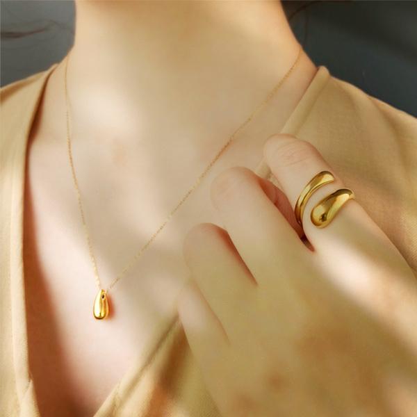 Honey necklace (gold)