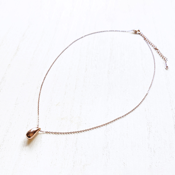 Honey necklace (pink gold)