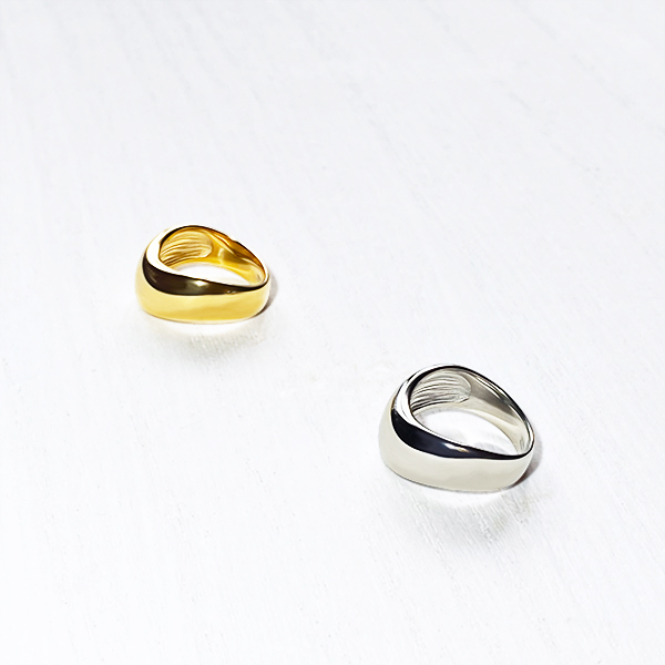 Round curve ring