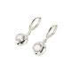 Circle stone pierce (silver)
