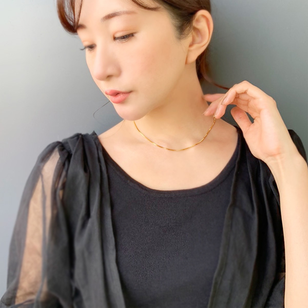Venetian chain necklace