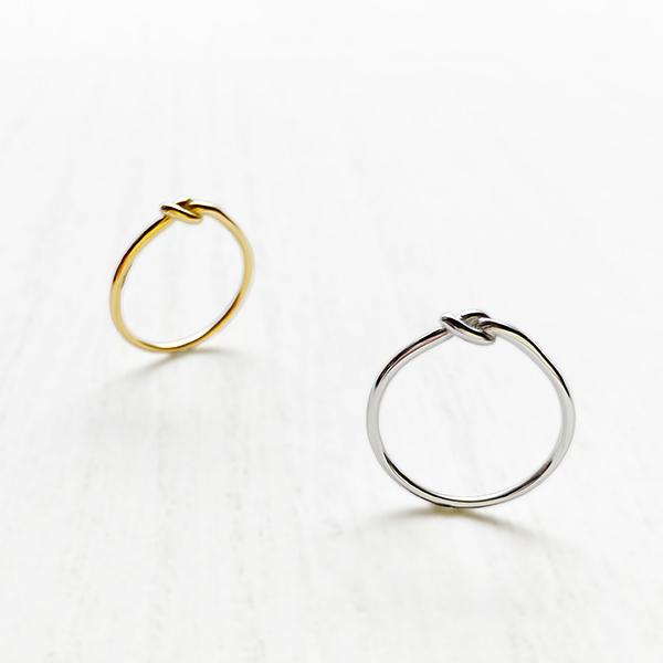Knot ring / thin