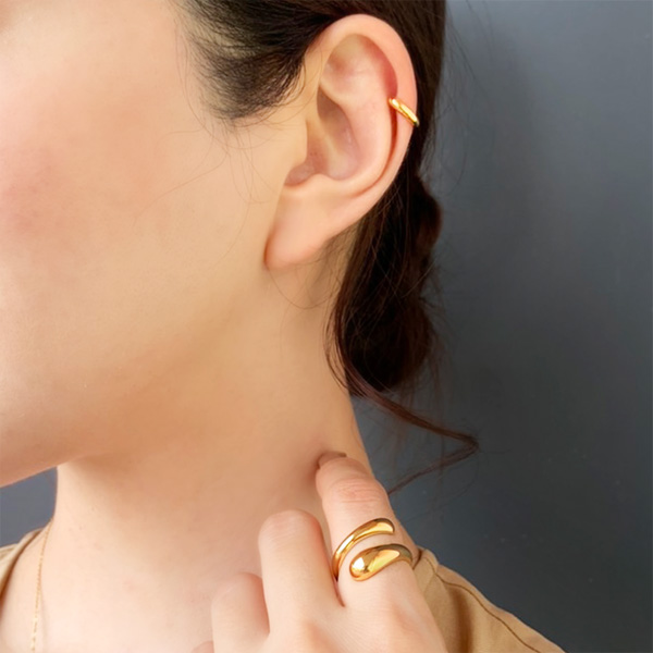 Add a little ear cuff [silver925]