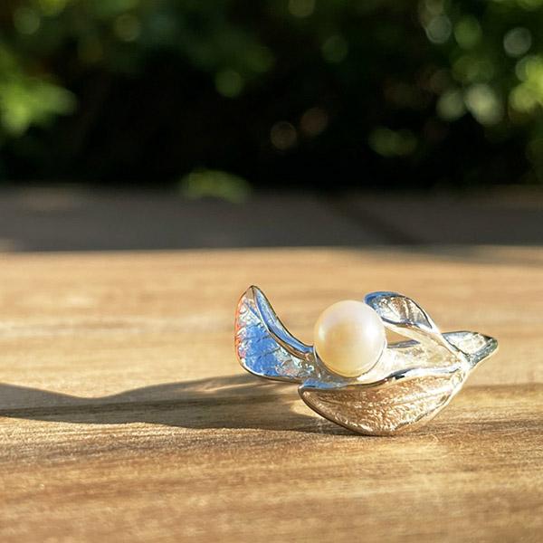 Ring -葉-  silver925